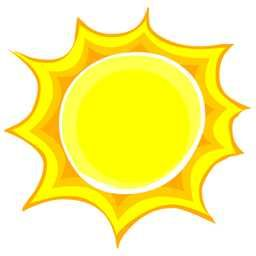 Pin By Sherry White On Illustrations Sun Moon Stars Weather Clipart Print Pictures Good Morning Sun