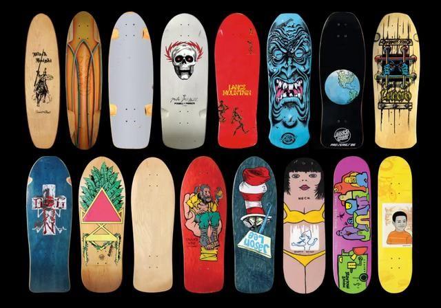 Natas Skateboard Projection Paris Skateboard Skateboard Design