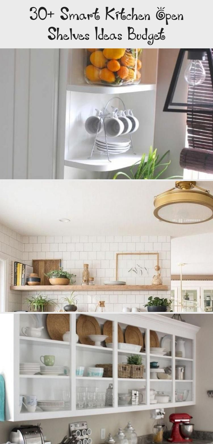 9+ Smart Kitchen Open Shelves Ideas Budget kitchendesign ...