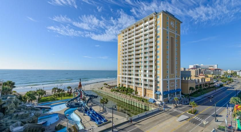 Westgate Myrtle Beach Oceanfront Resort South Carolina This Hotel Offers Direct Access To A White Sand Atlantic Ocean