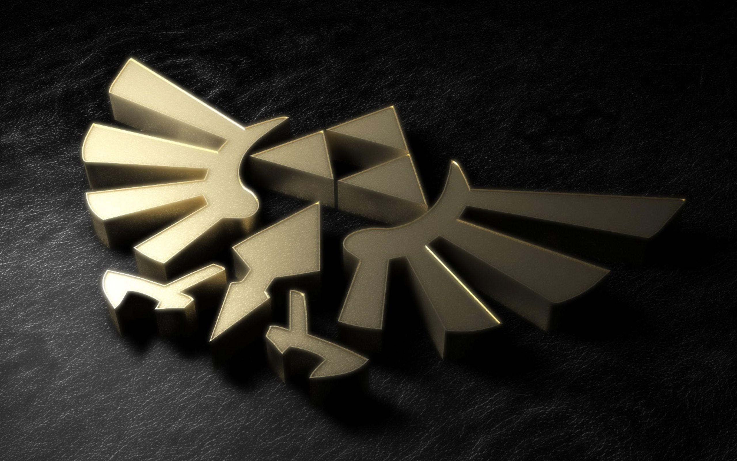 3d Pin Zelda Black Wallpaper Hd Desktop Mobile 200039282 Zelda Hd Triforce Legend Of Zelda