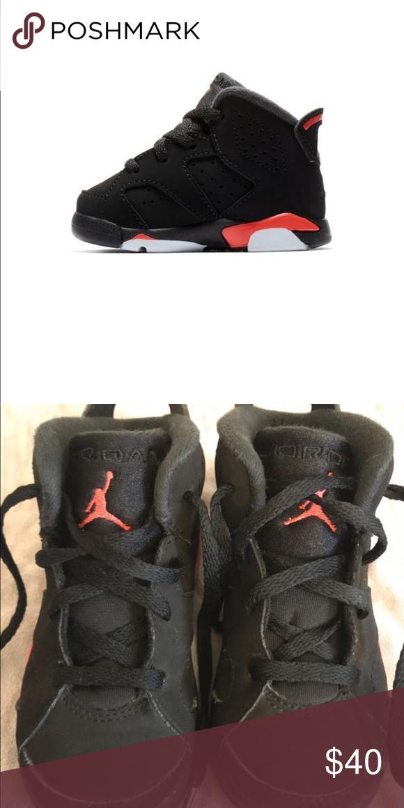 buy popular b655e e5bcb Jordan Shoes | Jordan 6 Retro Infrared Toddler Kids' Shoe ...