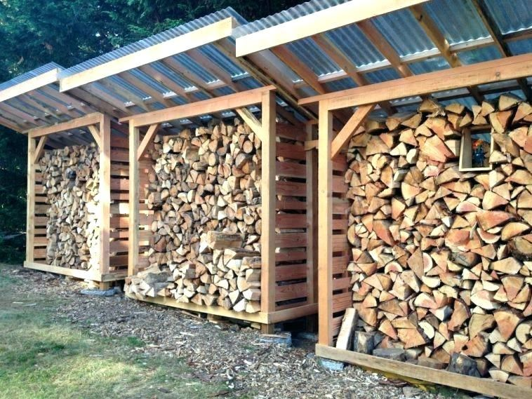 Outdoor Firewood Rack Decorative Firewood Rack Wood Firewood Storage Shed Plan With Plastic Roof As Well As Indoor Firew Backyard Sheds Firewood Shed Wood Shed