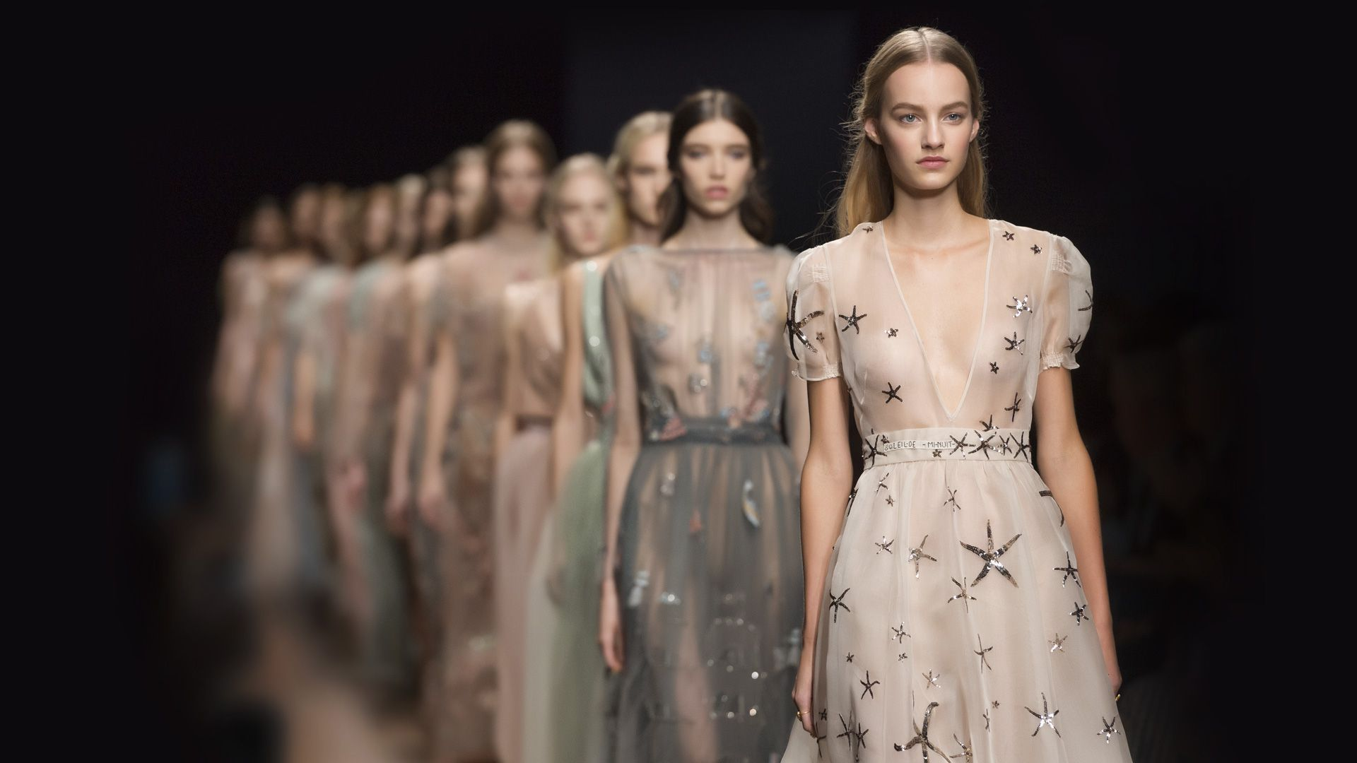 Valentinous ss vision is a fashion dream of tulle stars and