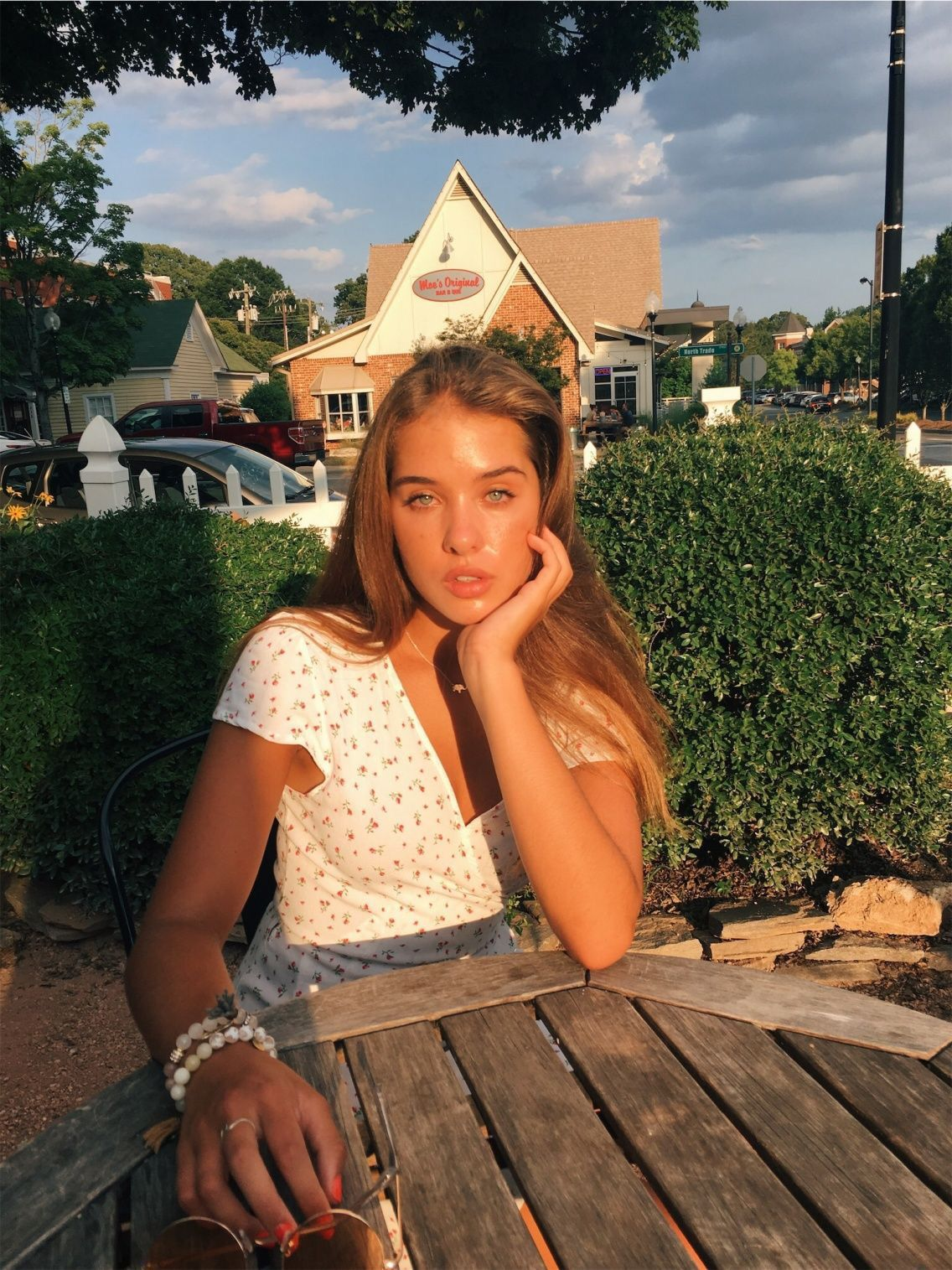 Goldenhour Model Pictures Instagram Outside Nature Hair
