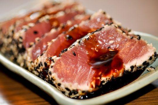Tuna with Sesame Crust