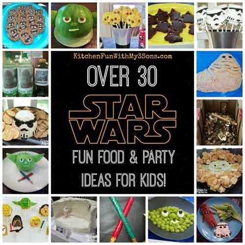 Star Wars Fun Foods & Party Ideas