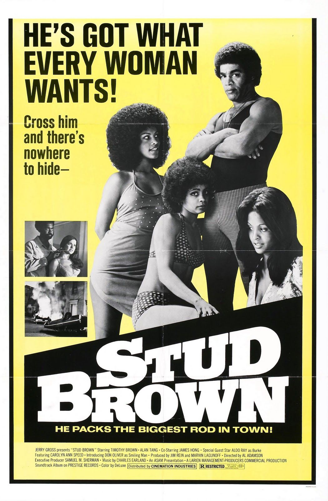 Stud Brown #Movie #Blaxploitation #70s #Poster #Exploitation