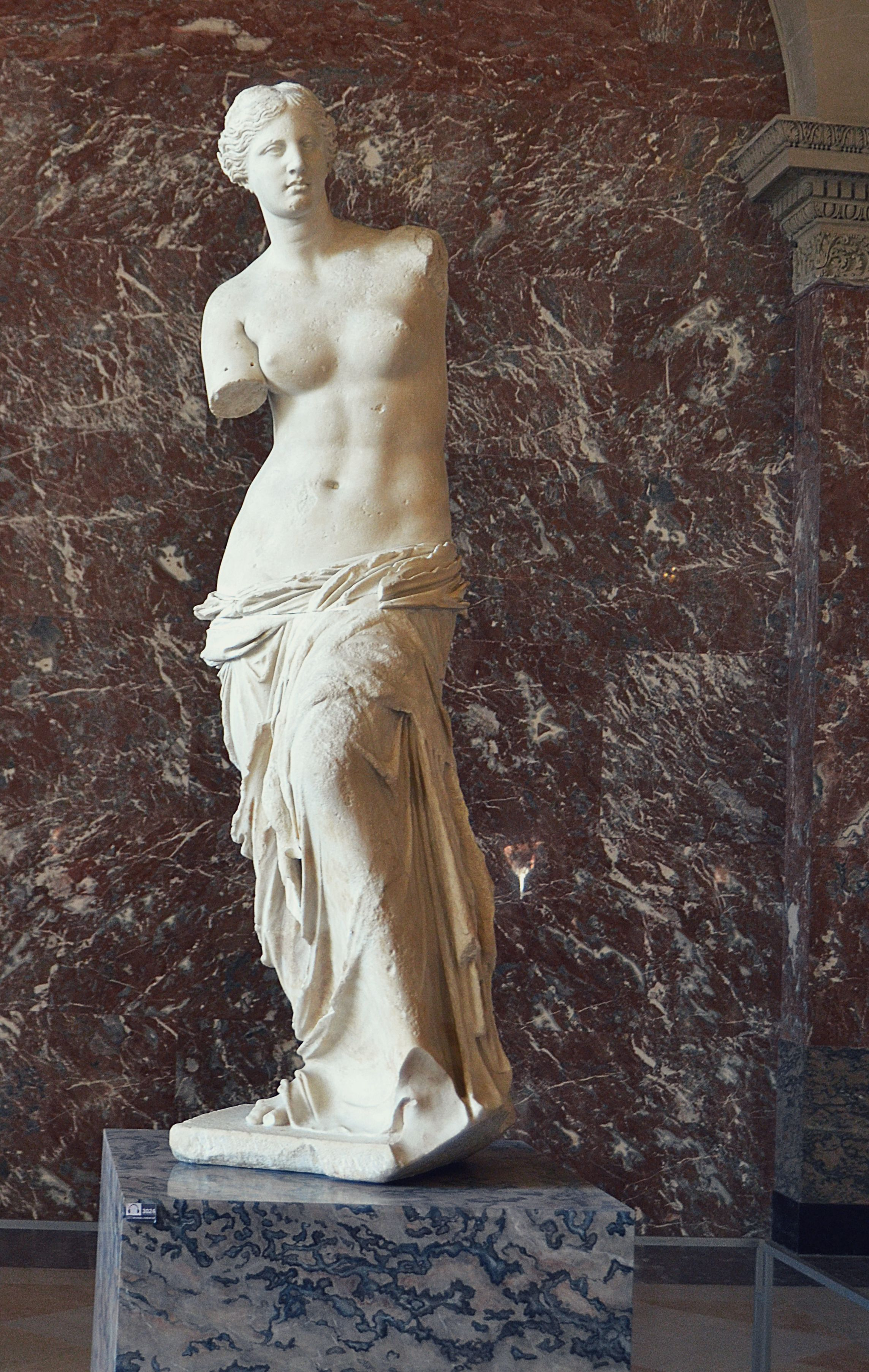 Venus de Milo. Louvre. Paris, France.