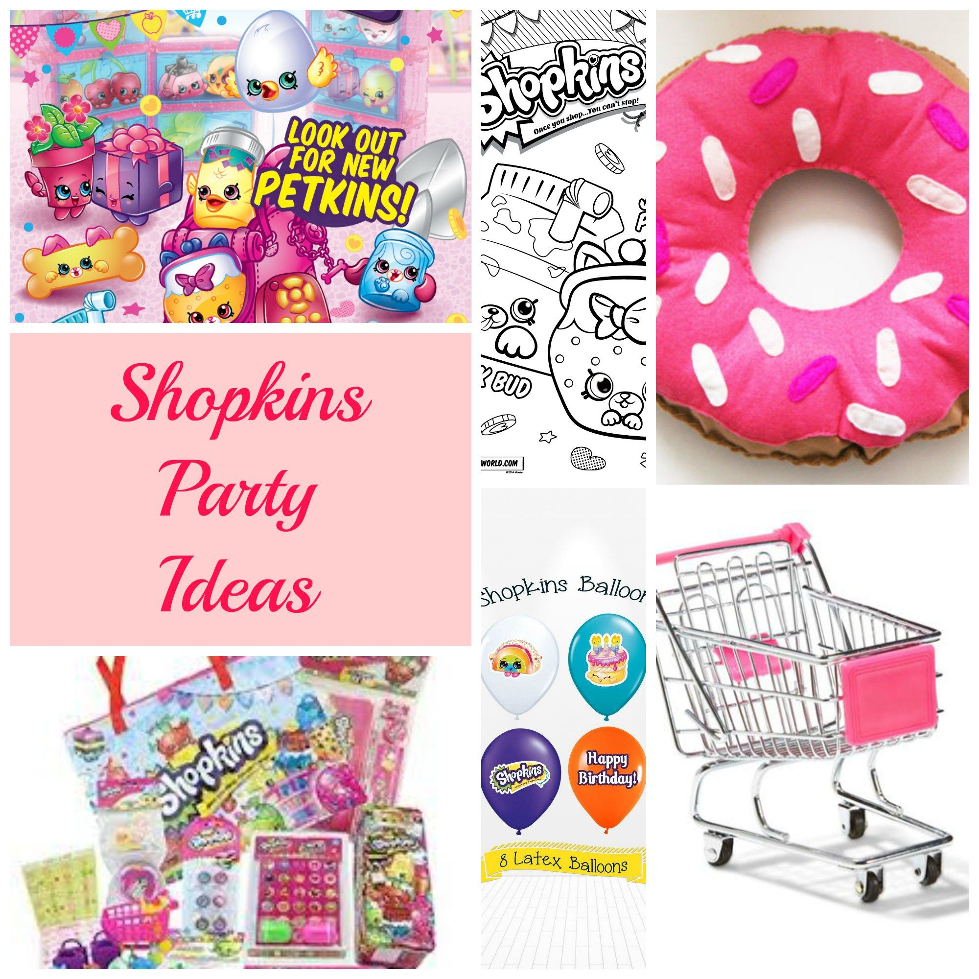 FREE Shopkins Party Printables