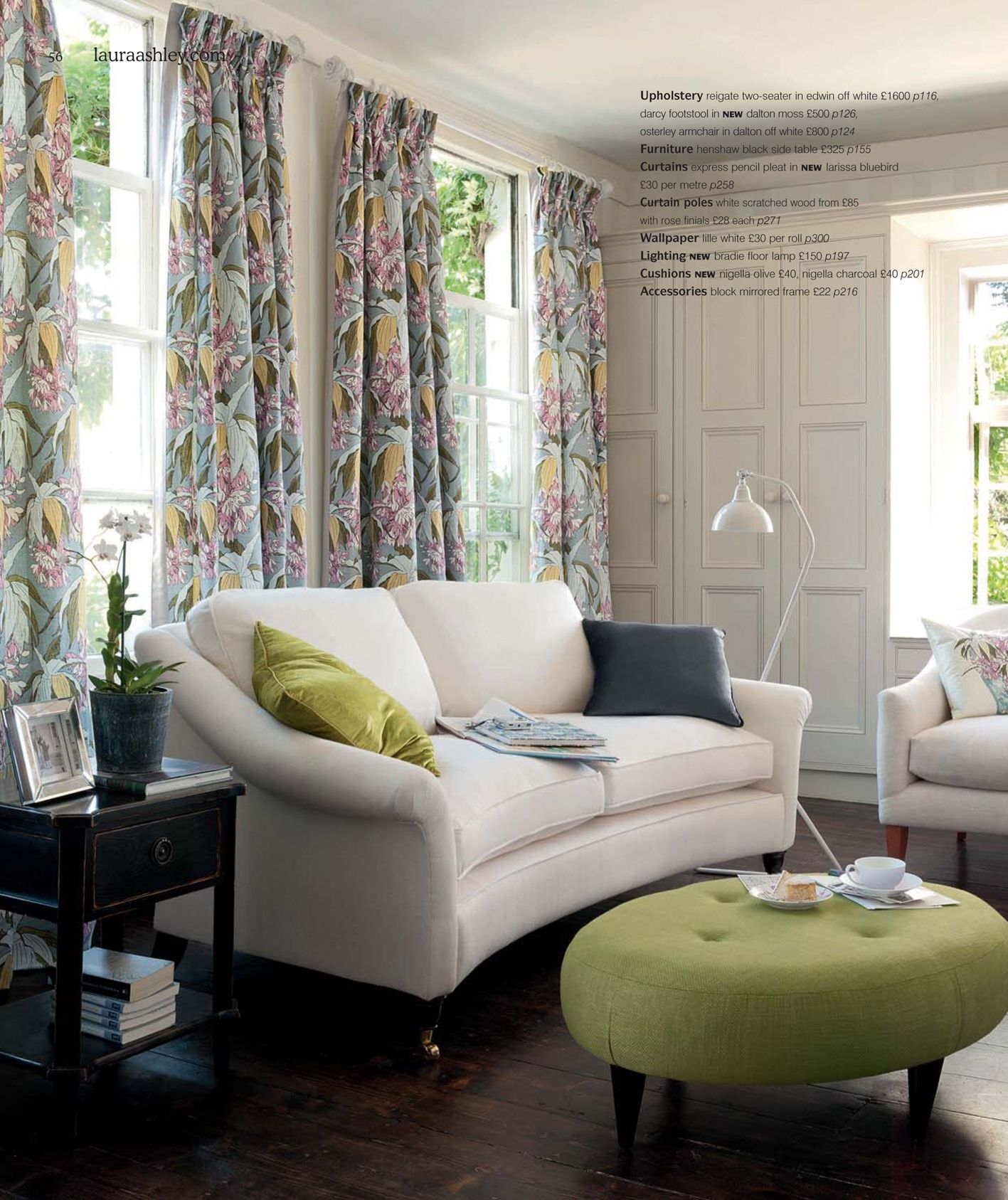 Laura Ashley & Louise Body 'Glasshouse' Collection.