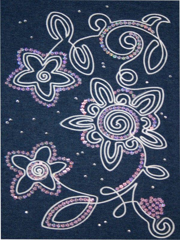 Рисунки вышивка шнуром