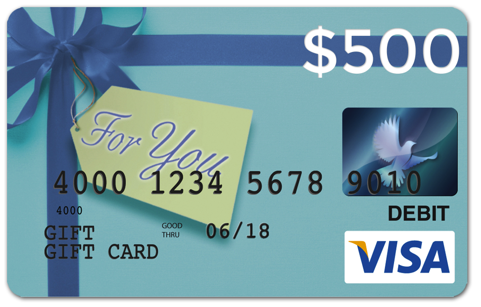 visa card contests prizes a 500 visa gift card dates - Visa Gift Card Canada