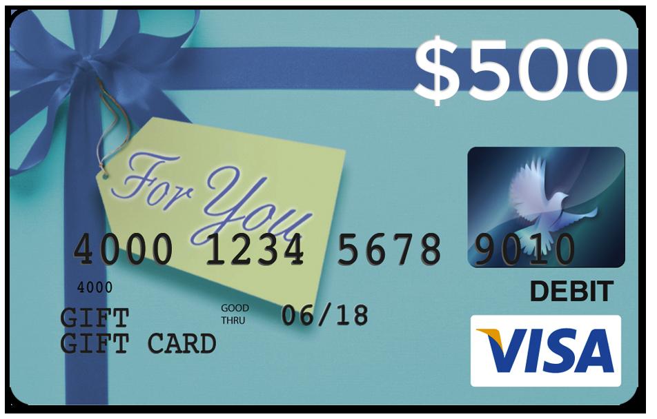 Visa Card Contests Prizes: a $13 Visa gift card Dates