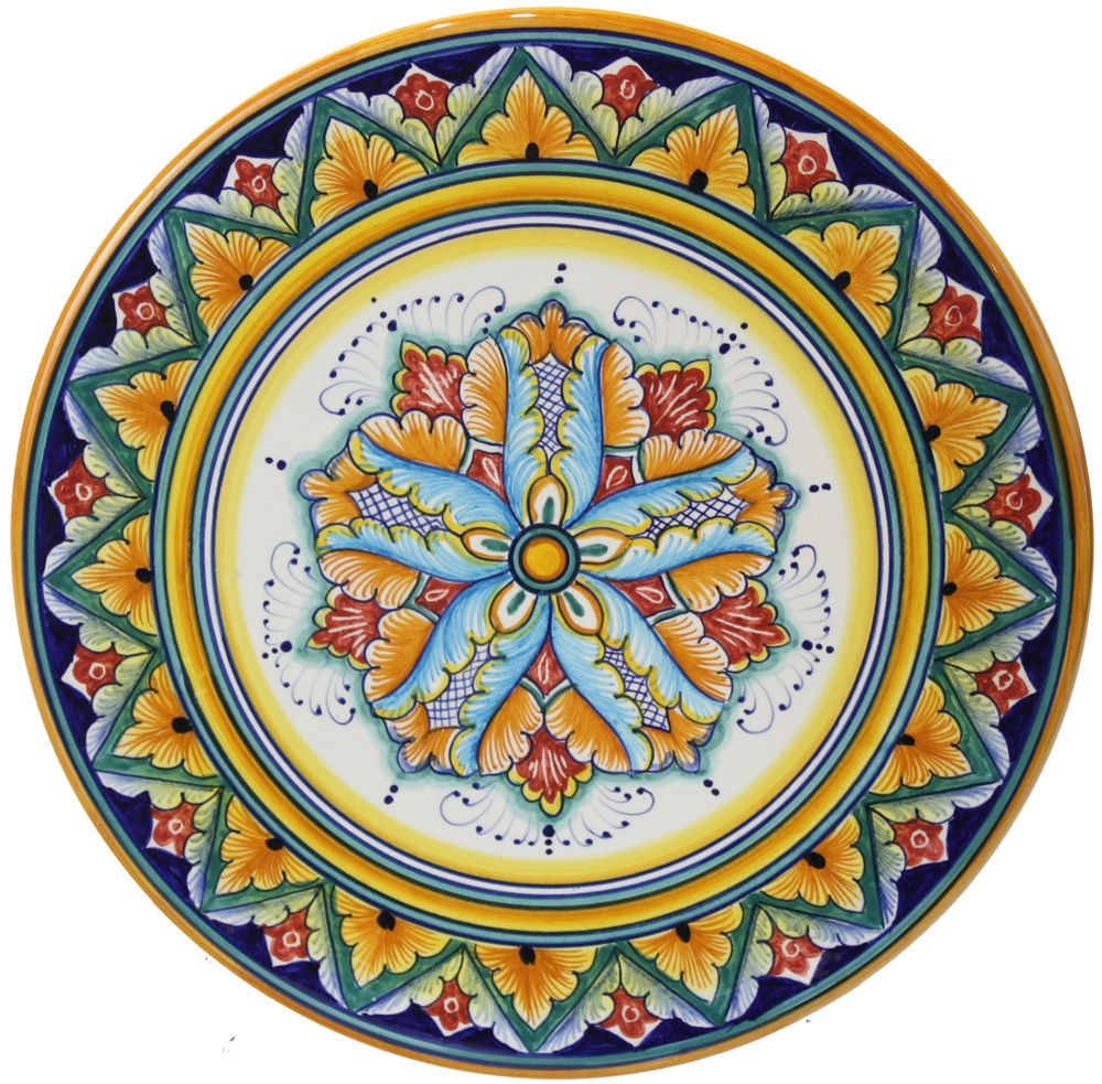 Deruta plate. I have been in the Deruta Museum for Ceramics. Umbria Italy  sc 1 st  Pinterest : italian pattern dinnerware - pezcame.com