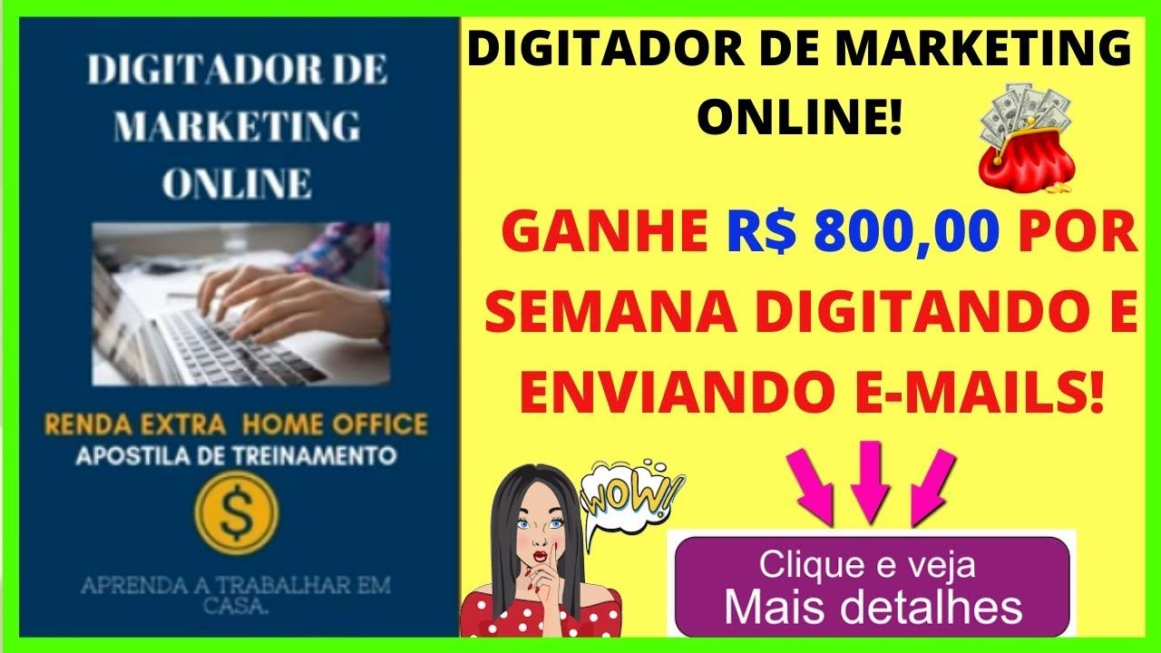 digitador de marketing online por dentro