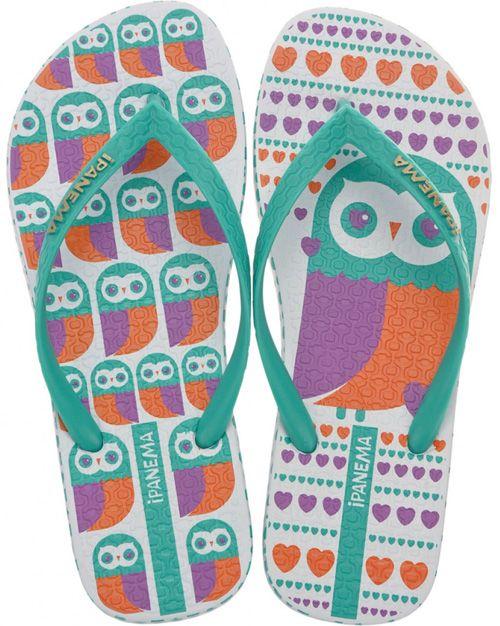 698d36b631aedb I want these!! My Owl Barn  Ipanema Owl Flip Flops