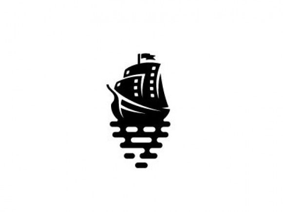 sail boat for the film production brand by George Bokhua
