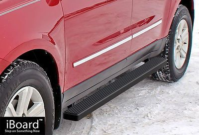 Matte Black 4 Running Boards 07 17 Gmc Acadia Chevy Traverse 07 10 Outlook With Images Chevrolet Traverse Chevy Gmc