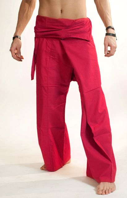 #Fuschia #Extra #Long #Fisherman #Pants. by #Bindidesigns