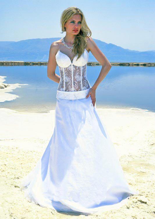 wedding dresses see through corset bodice - Google Search | My ...