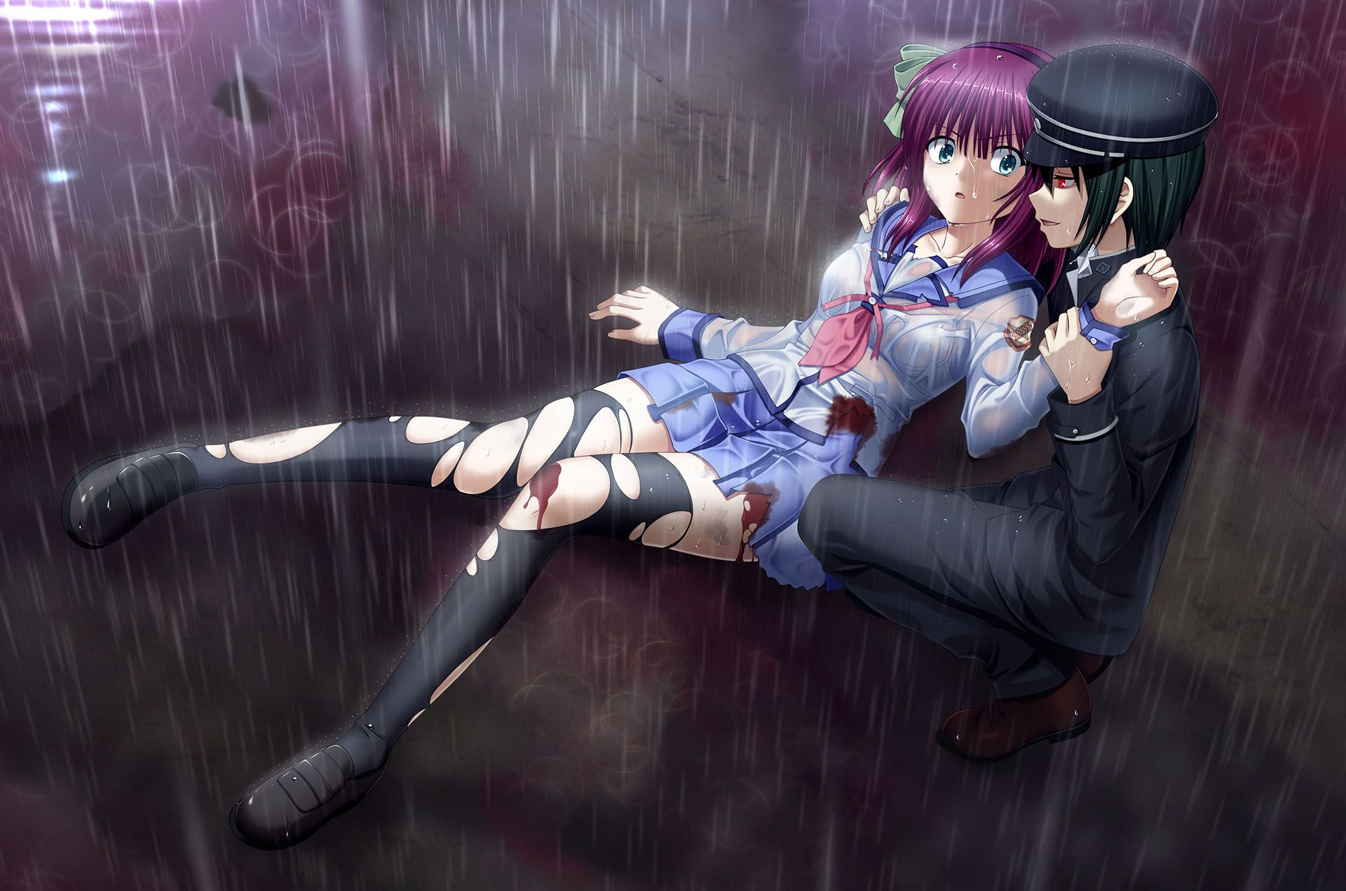 angel beats yurippe and naoi angel beats angel angel beats yurippe and naoi