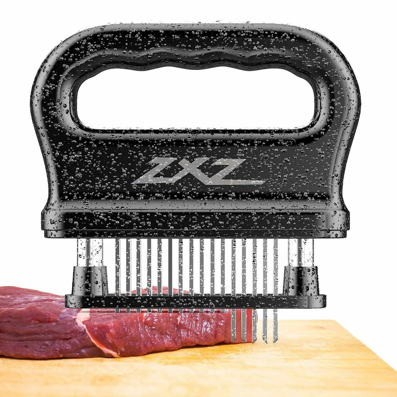 Klemoo meat tenderizer tool 48 ultra sharp needle