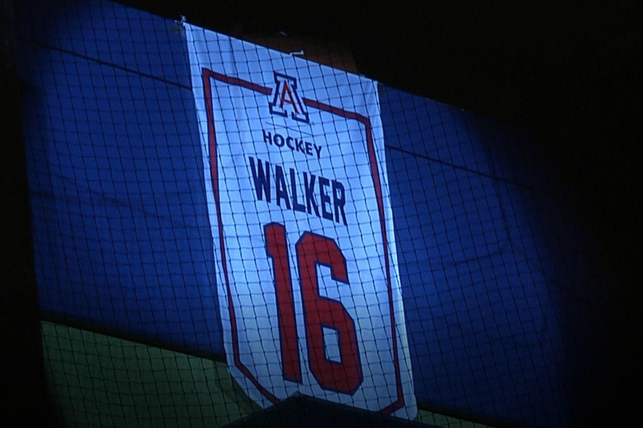 Arizona hockey retires jersey number of former IceCat