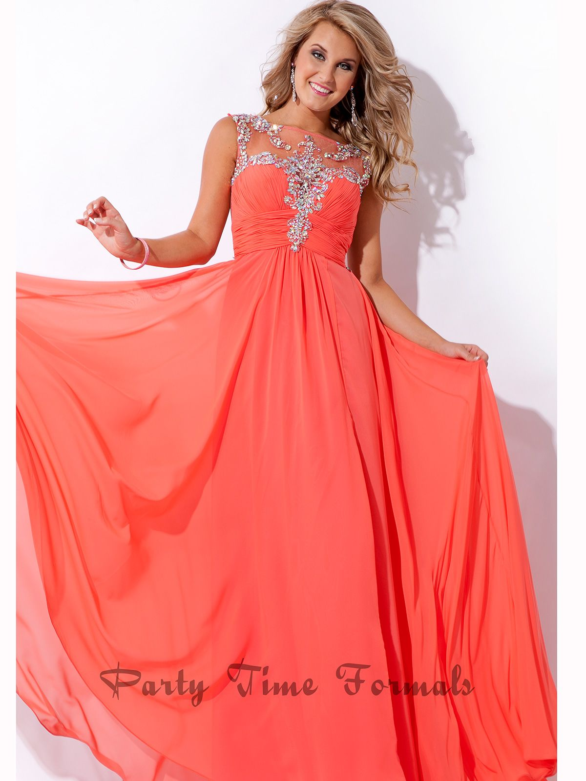 Ruched Beaded Bodice Party Time Prom Dress 6467 : DressProm.net ...