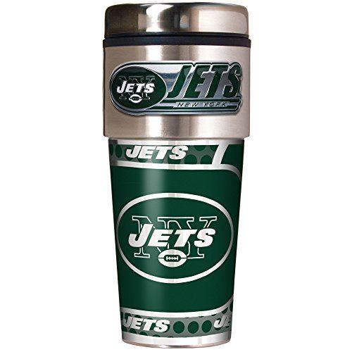 New York Jets Travel Mugs