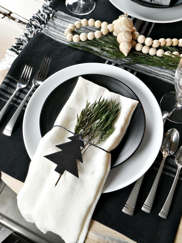 Photo of Scandinavian Inspired Christmas Table