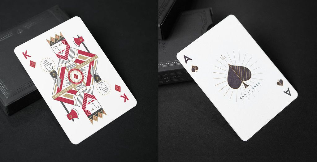 Run It Once Playing Cards 1st Edition Playing cards
