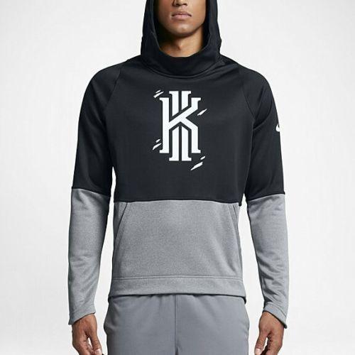 Nike KYRIE Elite Pullover Basketball Mens Hoodie L Black