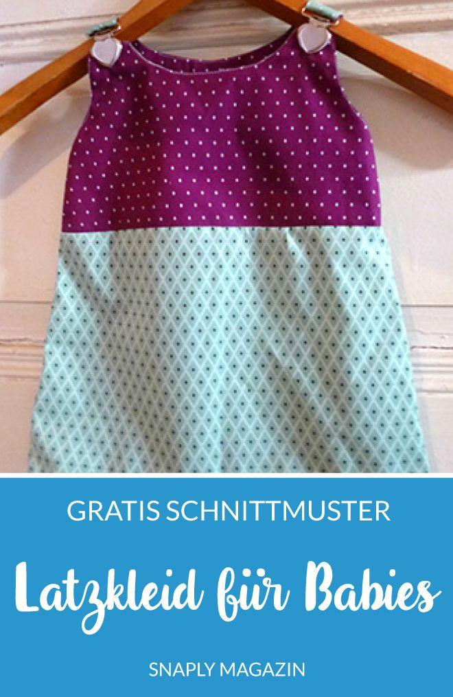 Photo of Gratis Anleitung & Schnittmuster: Latzkleid für Babies nähen | Snaply-Magazin