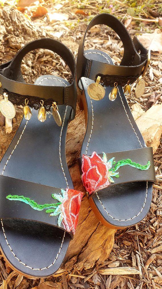 a09ecc15c97 Boho Hippie Chic Sandals Cupid Valentine Heart Fairy Angel bohemian ...