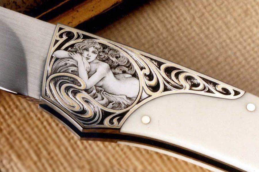 Vintage Ben Shostle Custom Engraved