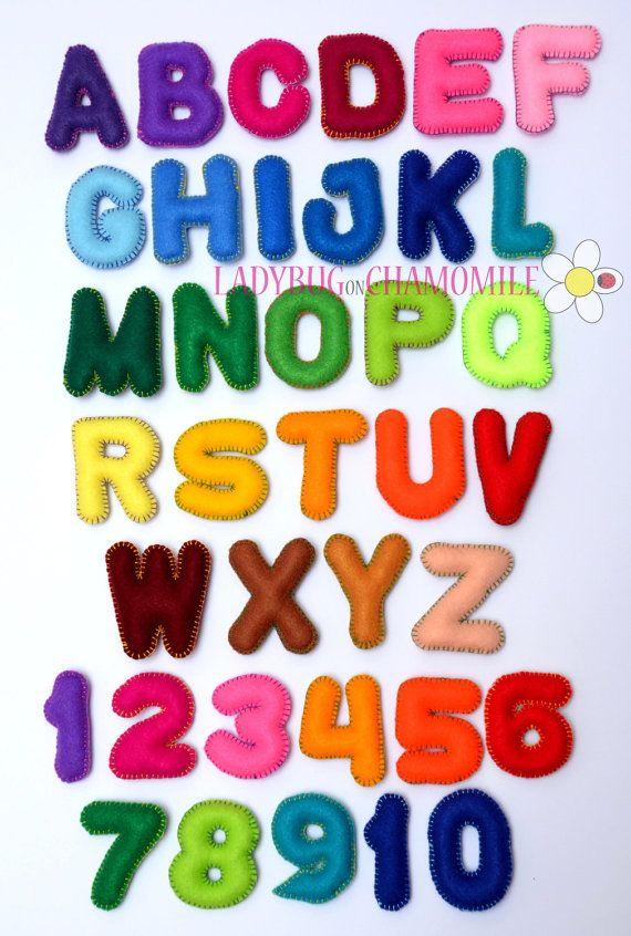 Felt Magnet Alphabet And Numbers Felt Magnet Alphabet And Numbers Felt Letters