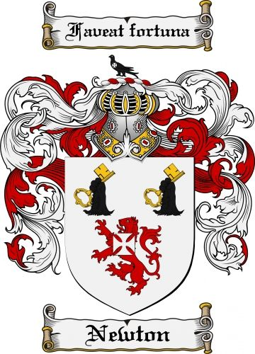 Newton Coat Of Arms Newton Family Crest Instant Download 799 The