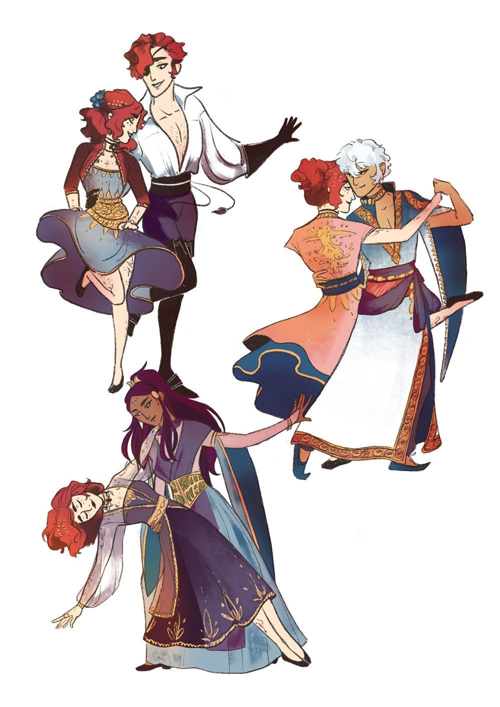 Nia's art blog Arcana in 2019 Character design, Art