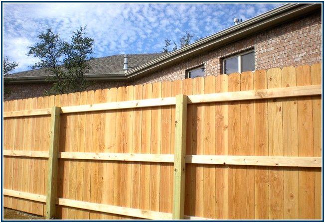 Striking Wood Fence Construction Details