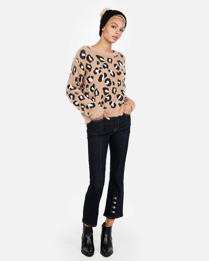 e371141e6a58 Express Leopard Pullover Sweater #Leopard#Express#Sweater   Children ...