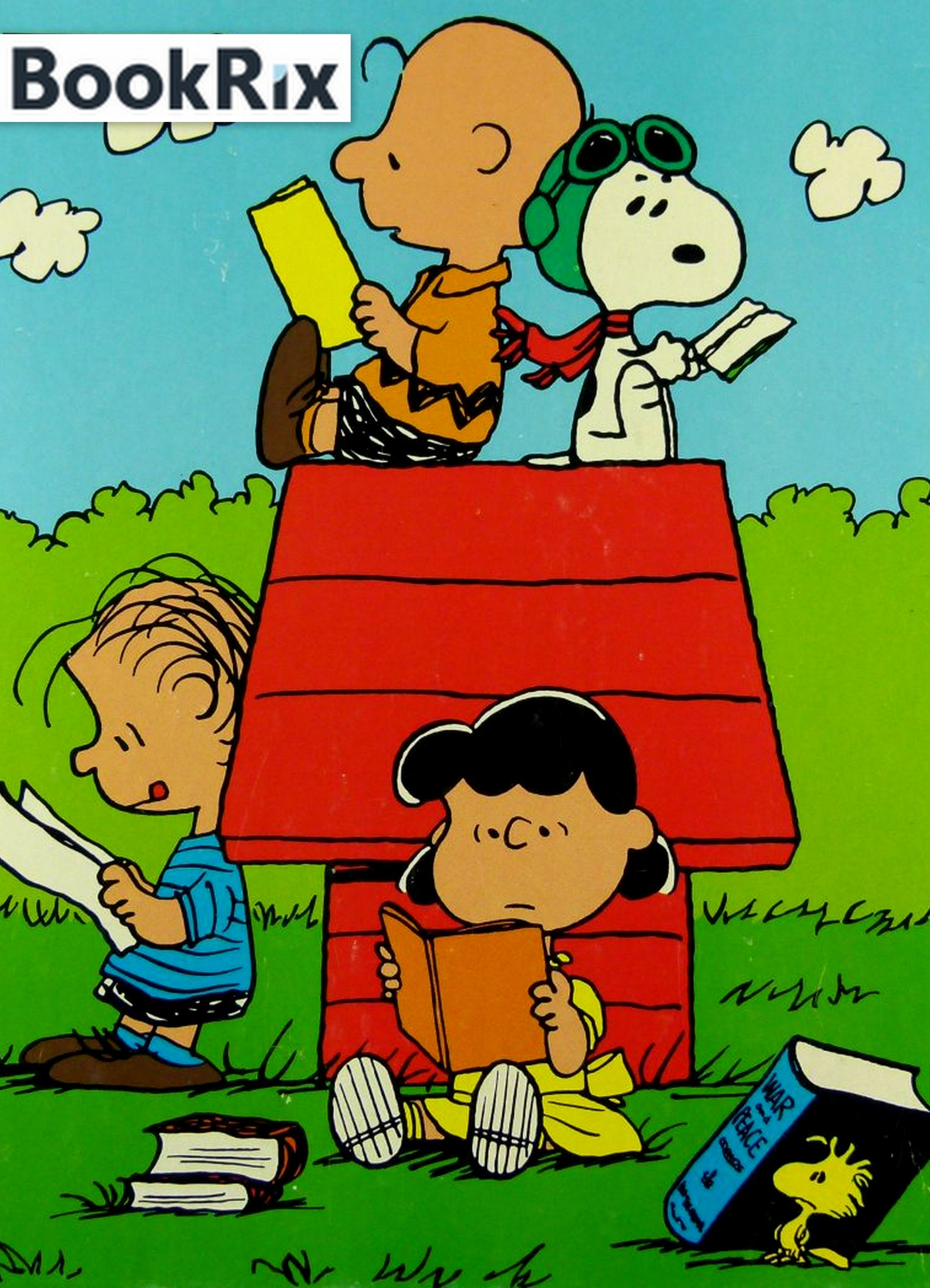 charlie brown reading book - Google Search   Llibres/personatges ...