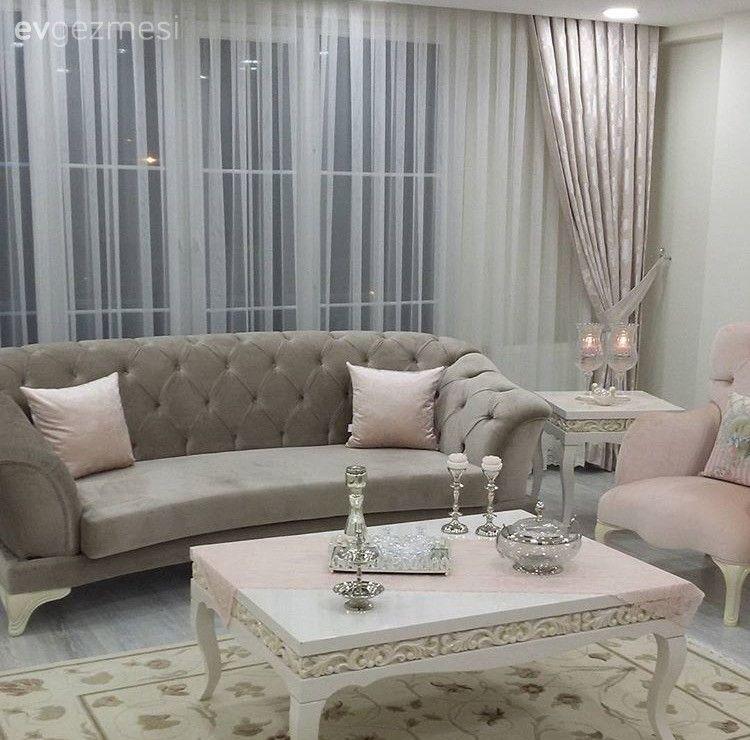 Klasik stilde, aydınlık ve zarif: Necmiye hanımın evi.. #hausdesign