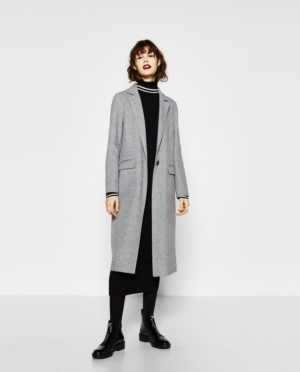 Largo Y Abrigos España Zara Abrigo Mujer Rebajas RPx6qdYxw8