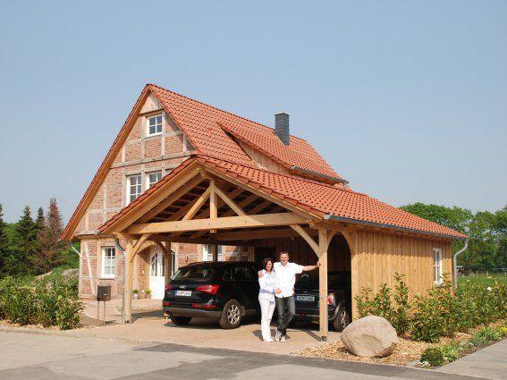 Haussuche Fuhrberger Fachwerkhaus Haus, Fassade haus