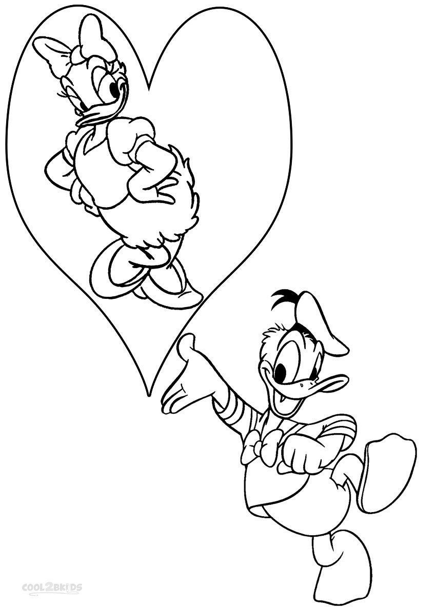 Printable donald duck coloring pages for kids coolbkids mom