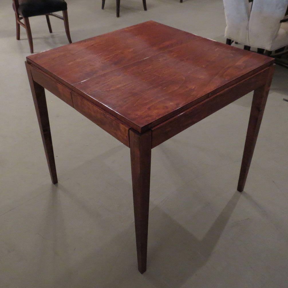 American Art Deco Card Table With A Secret Modernism Table Art Deco Deco
