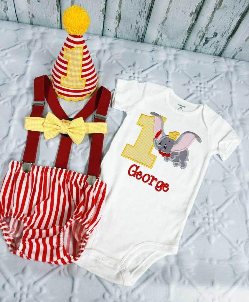 Boys Circus Cake Smash,Boys Cake Smash,Dumbo Cake Smash