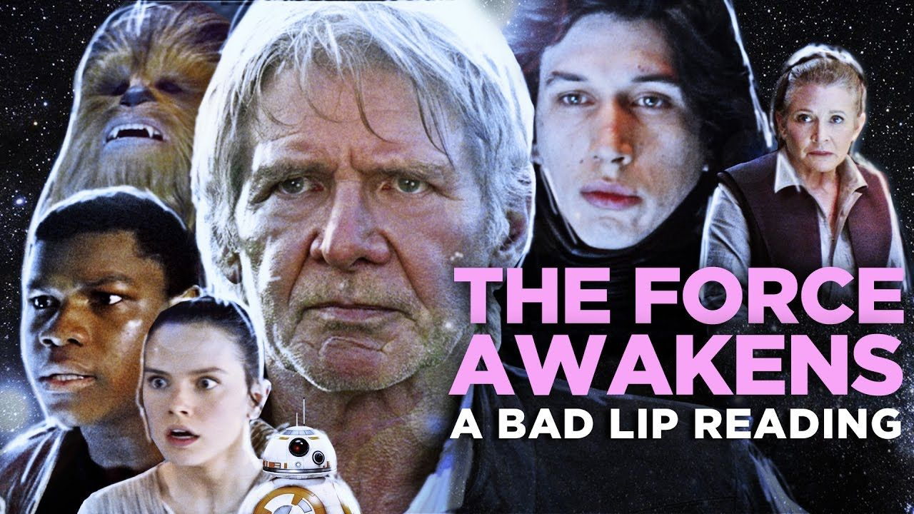 """""""THE FORCE AWAKENS A Bad Lip Reading"""" (Featuring Mark"""