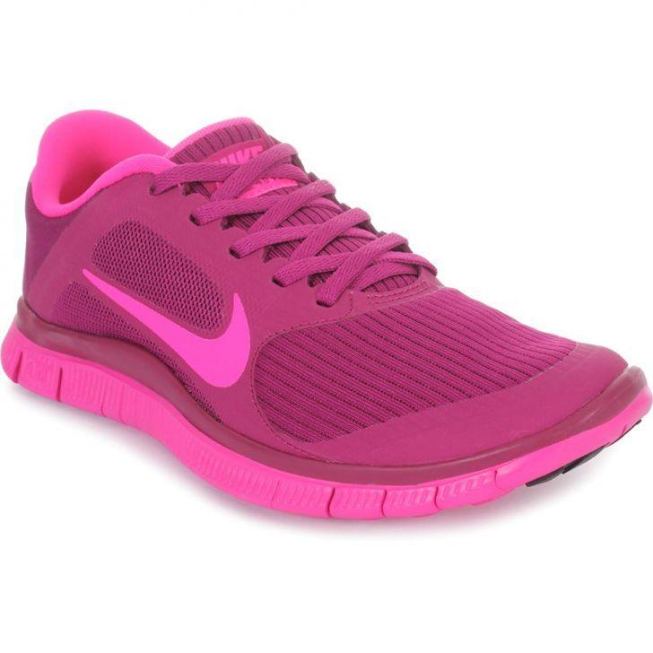 5970df98c8b Tênis Nike WMNS Free 4.0 V3 - Rosa Choque